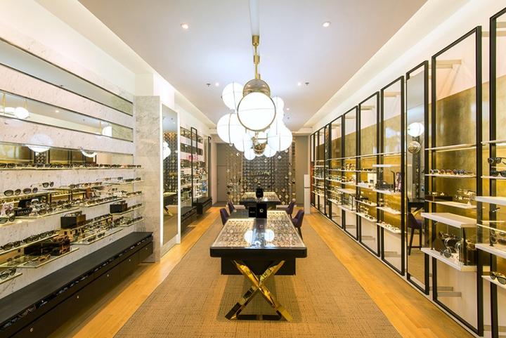 Luxoptiq eyewear store by Whitespace Bangkok – Thailand