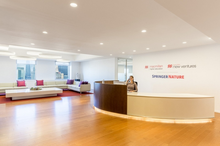 macmillan publishers offices by tpg architecture new york city