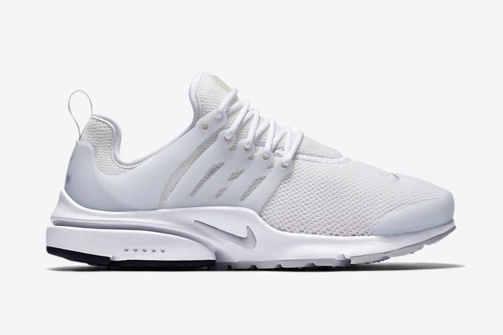 187 Nike All White Air Presto Sneakers