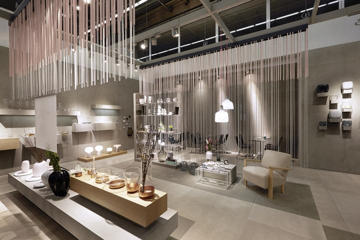 法兰克福Nude玻璃制品展厅设计