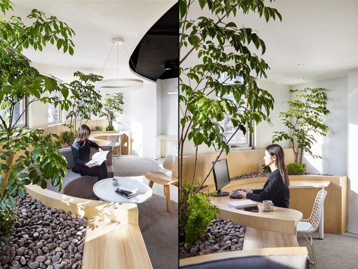 office reconstruction by muxin design shanghai china