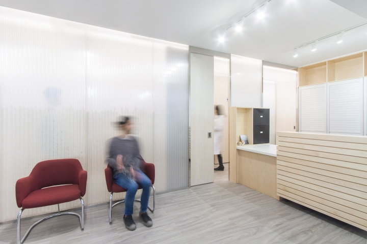 14 Is A Private Medical Clinic With An Efficient Plan That Consists Of Three Exam Rooms Laboratory Teaching Area Staff Room And Waiting