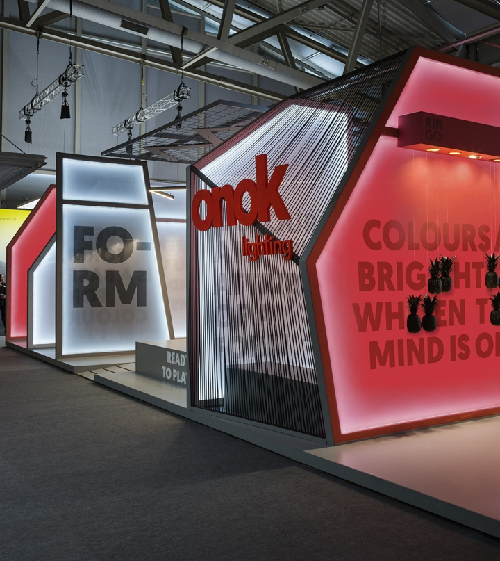 Exhibition Stand Lighting Qld : Onok stand at light building by masquespacio