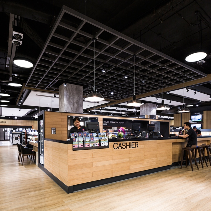 Household Stores: » Power Buy Store By Whitespace, Bangkok