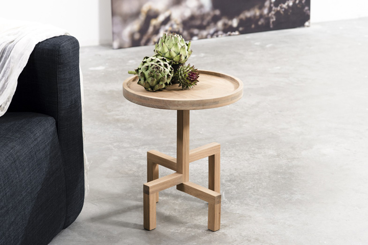 ROOTS Side Table By Gerard De Hoop For Odesi