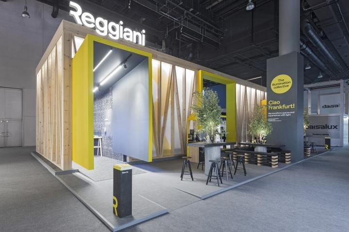 reggiani rebranding pavilion by dalziel pow