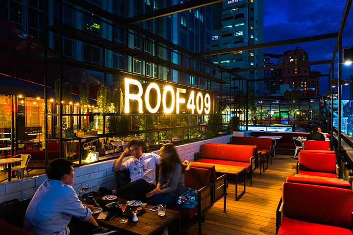 187 Roof 409 Bar And Bistro By Whitespace Bangkok Thailand