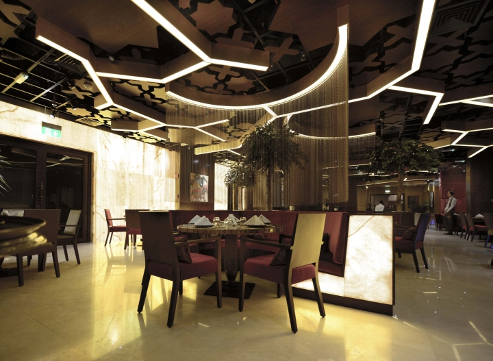 Sargon restaurant by space dubai uae retail design
