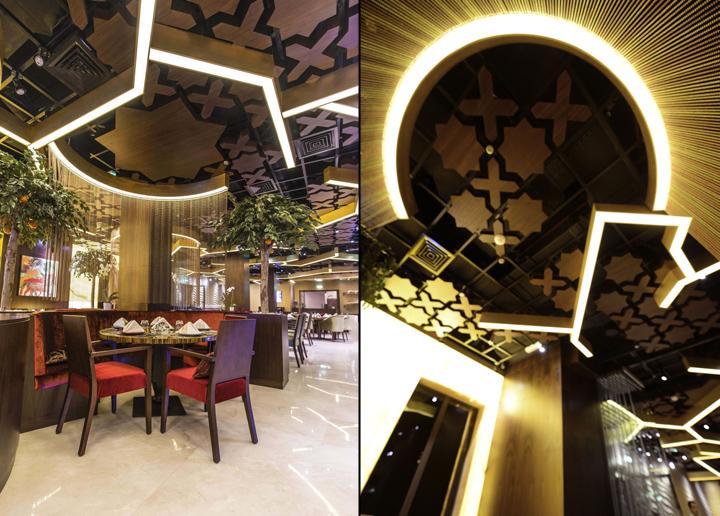 Sargon restaurant by space dubai uae retail design