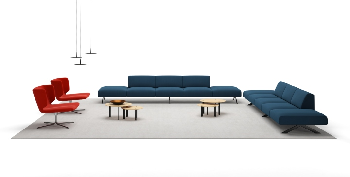 Sistema Is A Unique And Revolutionary Idea Patented By Viccarbe That Breaks The Sofa Down Into Series Of Elements Seating With Or Without Legs