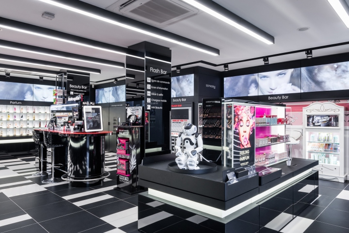 Sephora Flash by Intangibles, Paris – France » Retail Design Blog