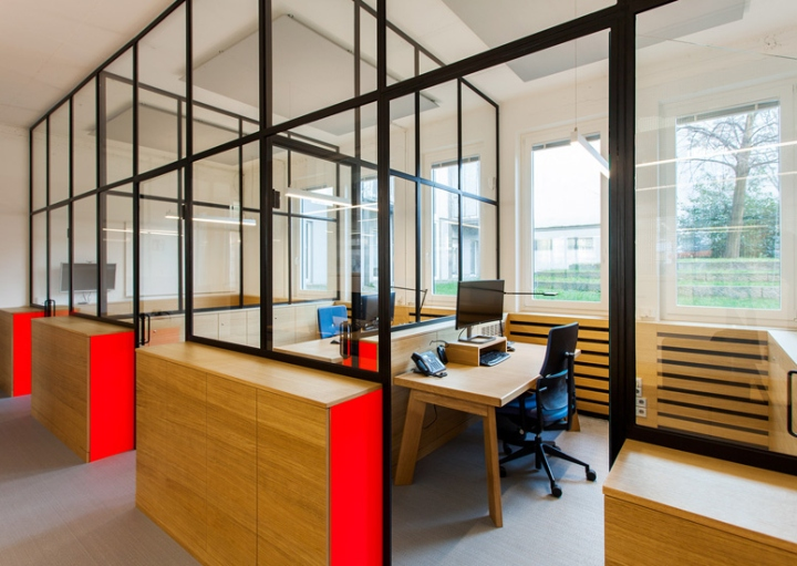 Smartdigital office by iondesign berlin germany for Office design open concept