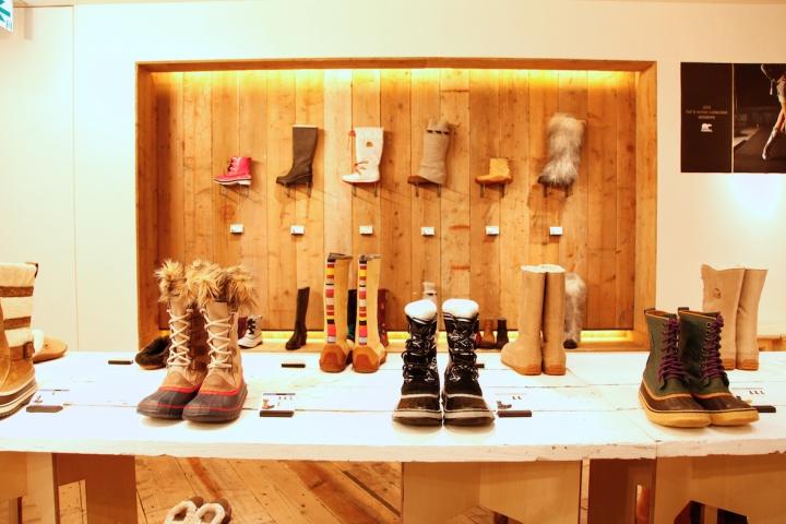 beste online schoenen voor goedkoop diverse stijlen Sorel store by curage design office, Harajuku – Japan