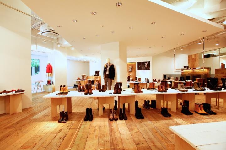 Sorel store by curage design office, Harajuku – Japan