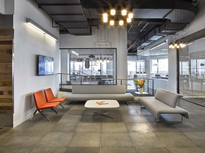 The bloc office by foz design new york city retail for Office design new york