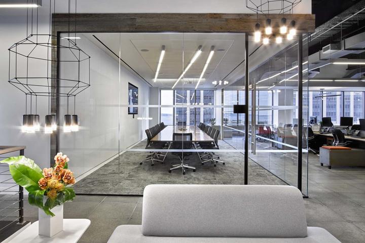 the bloc office by foz design new york city retail design blog
