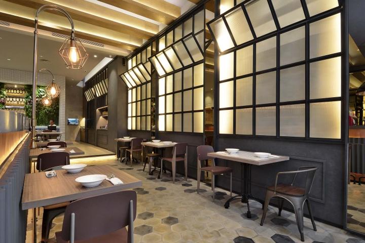 Uncle thjin bistro by metaphor interior jakarta for Interior design jakarta