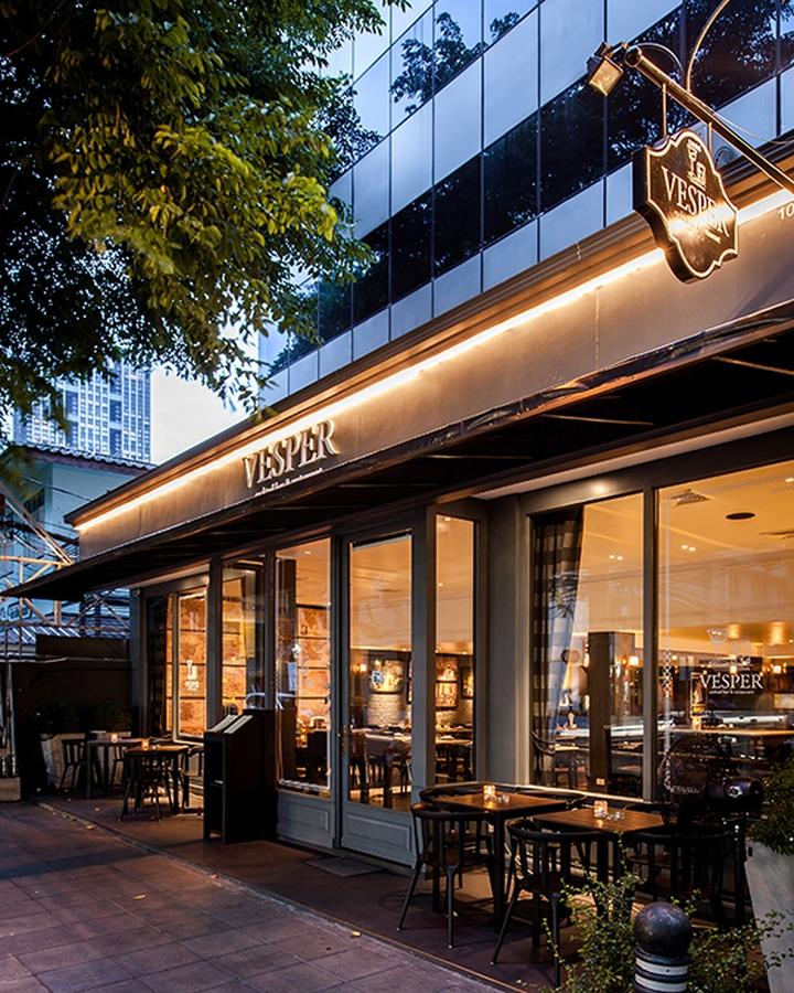 Vesper restaurant by whitespace bangkok thailand