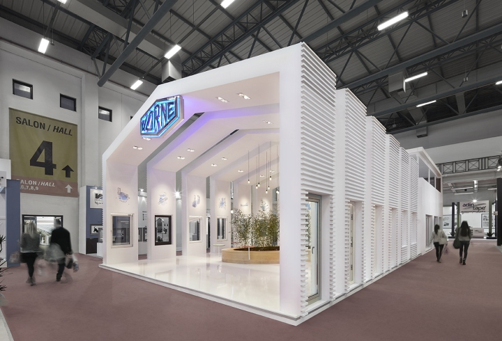 Vorne fair stand at Istanbul Window 2016 by YERce Architecture, Istanbul –  Turkey