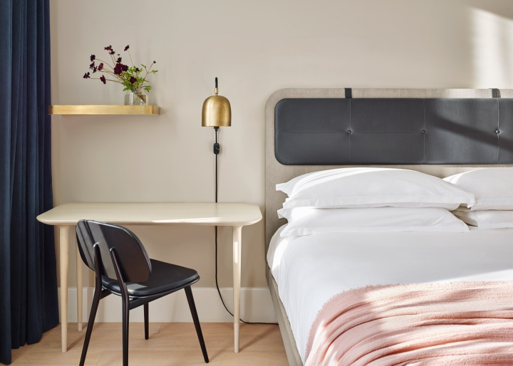11 howard hotel by space copenhagen new york city for Designhotel kopenhagen