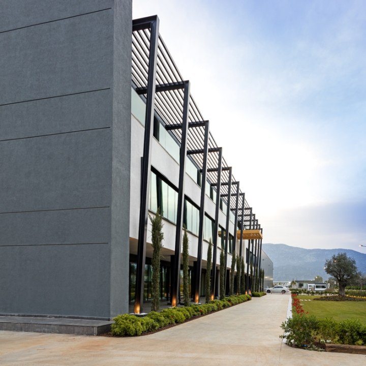 altintar office buildingkst architecture, antalya – turkey