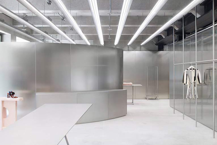 fe8e02a57d5a Acne Studios steadily continues its trajectory towards becoming a  full-fledged luxury brand, and its latest store on Munich s Maximilianspatz  bears witness ...