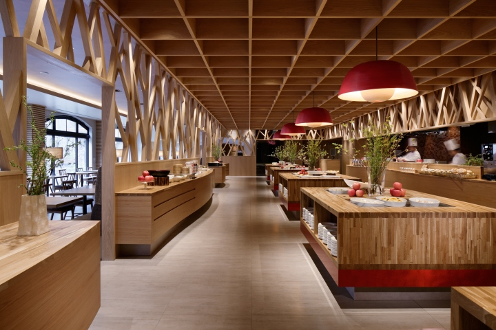 Aomori apple kitchen by fan inc aomori japan for Design hotel japan