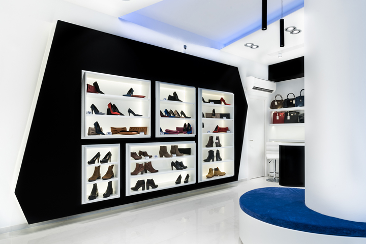 Georgantas Shoes, Designed By Smart Interiors, Is A Menu0027s And Womenu0027s  Fashion Footwear Boutique, Located In Athens Greece At Leoforos Marathonos  65.