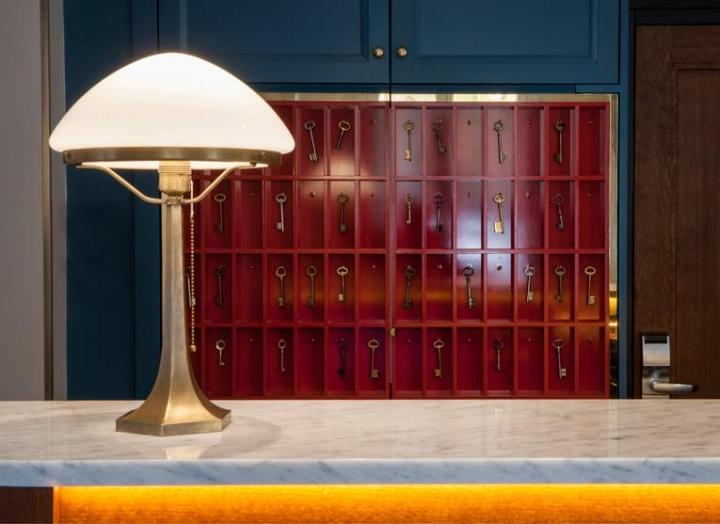 h tel andr latin by michael malapert paris france. Black Bedroom Furniture Sets. Home Design Ideas