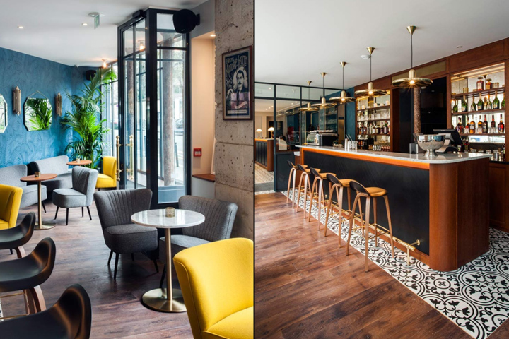 H tel andr latin by michael malapert paris france retail design blog - Hotel tendance paris ...