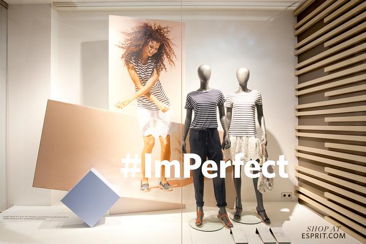 #ImPerfect Esprit spring/summer windows 2016 by Deck5, Worldwide