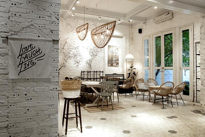Mãn nhãn với thiết kế nội thất quán cafe độc đáo tại Hà Nội1