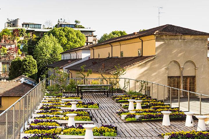 Kinetic Garden By Piuarch At Milan Design Week 2016, Milan U2013 Italy