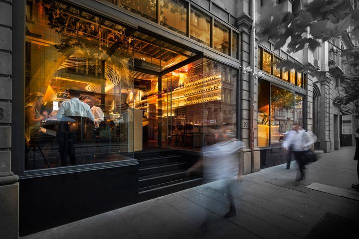 Lot 1 caf bar restaurant by enter projects sydney for Australian cuisine restaurants sydney