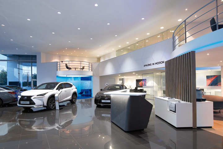 Through progressive Luxury  the Lexus facilities aim to provide a sense of  joy, prestige and enriching experiences. The L-finesse design philosophy ...