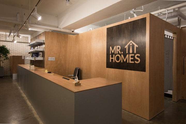 Mr homes real estate agency office by intu ne seoul for Home design agency scp