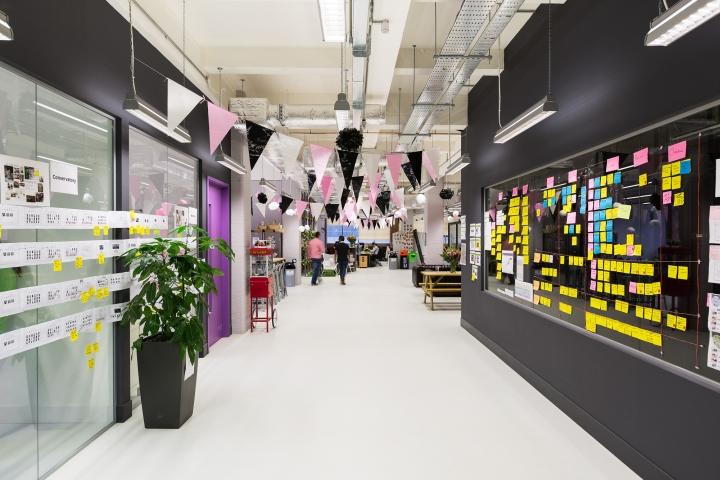 Moonpig Office By ThirdWay Interiors London UK