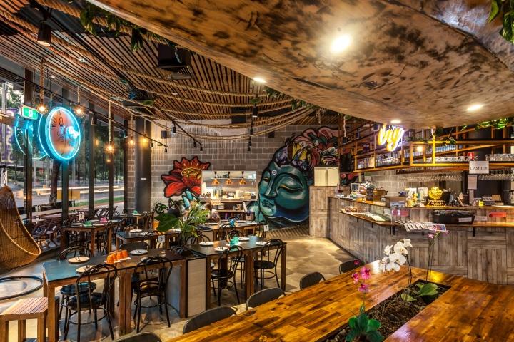Otg thai restaurant by creative 9 sydney australia for Experiential design sydney