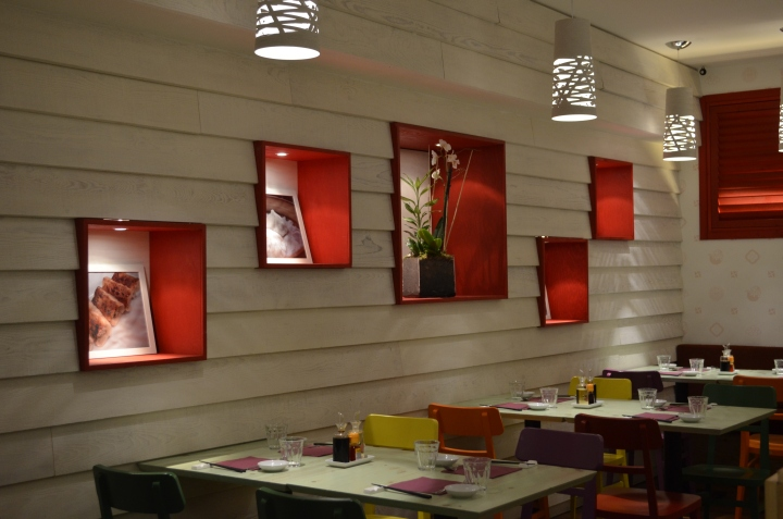 Restaurant Kitchen Wall Finishes pasta b restaurantgarde italy, milan – italy » retail design blog