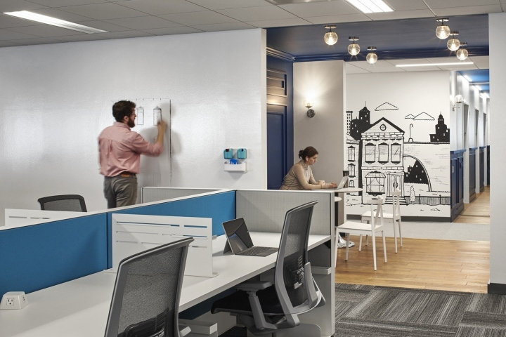 Placester offices by ia interior architects boston for Local interior design firms