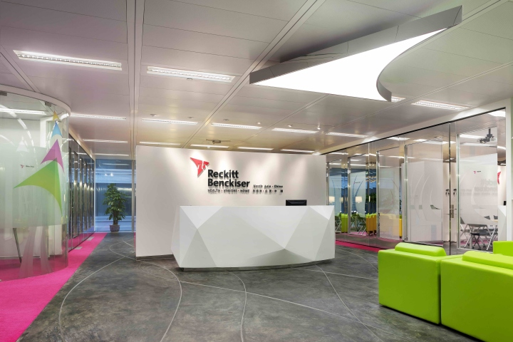 Reckitt benckiser north asia and china hq office by david for Oficinas orange barcelona