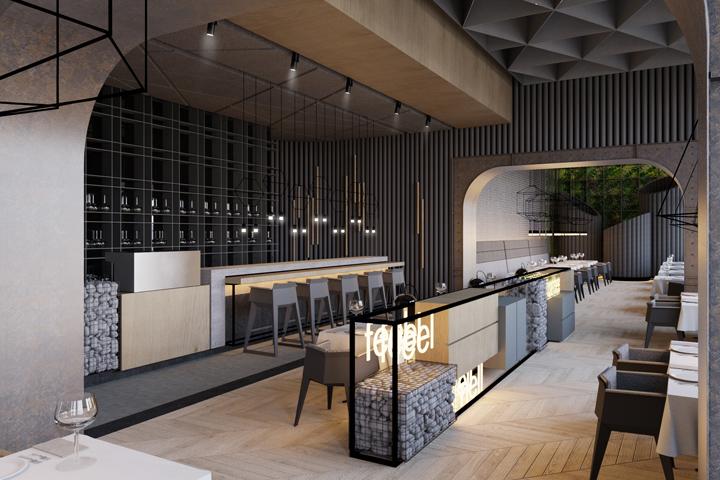 Fine dining retail design