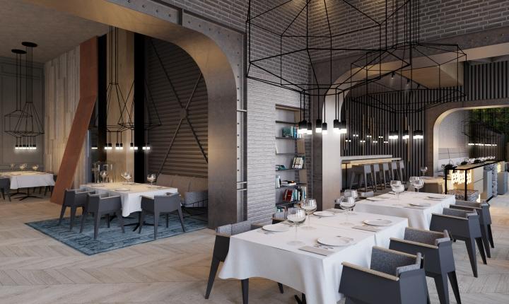 Restaurant concept by gosho studio cluj