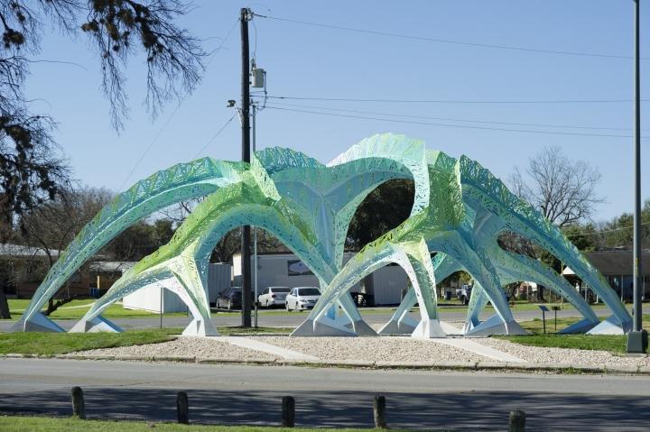 187 Spineway Permanent Public Artwork By Marc Fornes