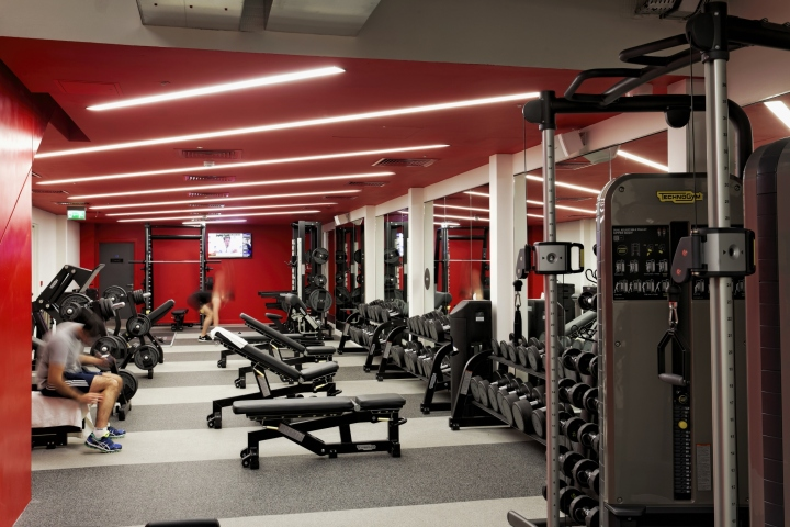 187 Virgin Active Lighting By Hoare Lea Lighting London Uk