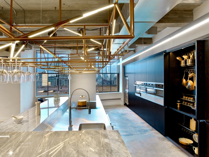 Wme img offices by rockwell group new york city retail for Interior design office new york