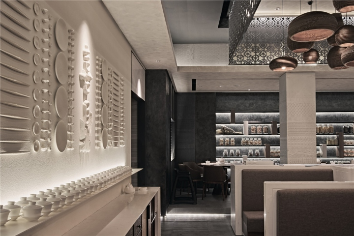 Xi ding dumpling restaurant by rigi design dalian china