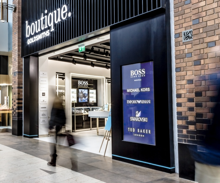 187 Boutique Goldsmiths Concept By Green Room Uk
