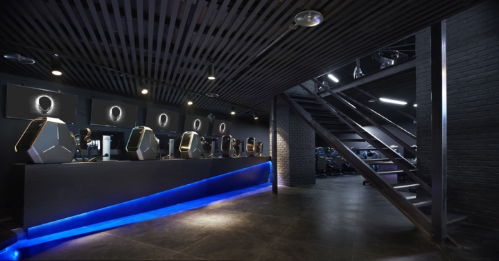 Alienware Theme Store And Internet Caf By Gramco Kunming