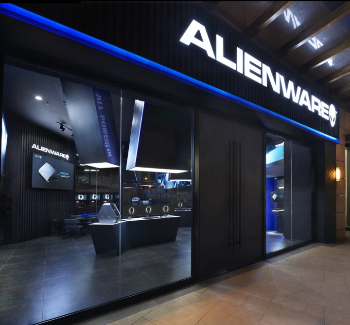 » Alienware theme store and internet café by Gramco ...